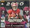 2020 Panini Prizm Draft Picks Collectors Hobby Hybrid Box