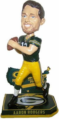 Green Bay Packers Aaron Rodgers Nation Bobblehead