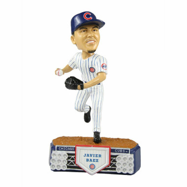 Chicago Cubs Javier Baez Stadium Lights Edition Bobblehead