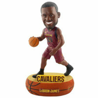 Cleveland Cavaliers Lebron James Baller Edition Bobblehead