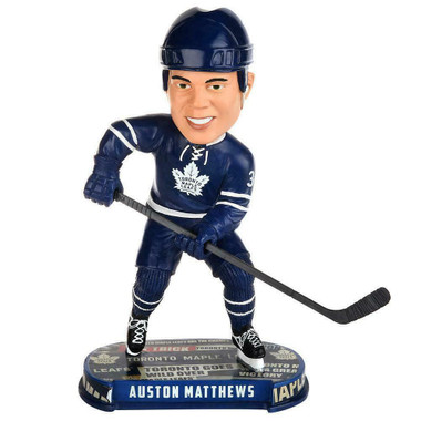 Toronto Maple Leafs Auston Matthews Headline Bobblehead