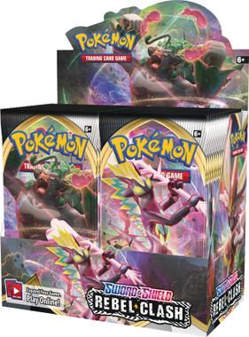 Pokemon Sword & Shield Rebel Clash Booster Box