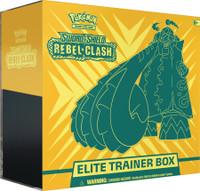 Pokemon Sword & Shield Rebel Clash Elite Trainer Box