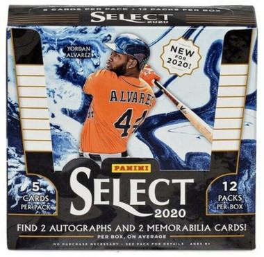 2020 Panini Select Baseball Hobby Box