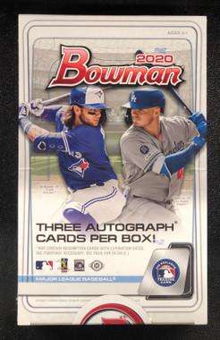 2020 Bowman Baseball Jumbo HTA Box