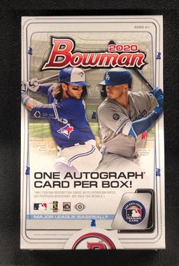 2020 Bowman Baseball Hobby 12 Box Case