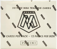2019/20 Panini Mosaic Basketball Multi-Pack 20 Box Case