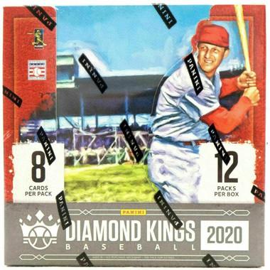 2020 Panini Donruss Diamond Kings Baseball Hobby Box