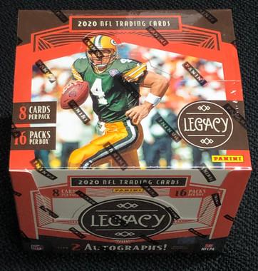 2020 Panini Legacy Football Hobby 12 Box Case