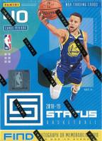 2018/19 Panini Status Basketball Blaster Box