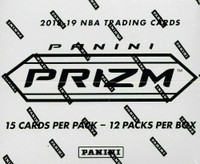 2018/19 Panini Prizm Basketball Cello Box
