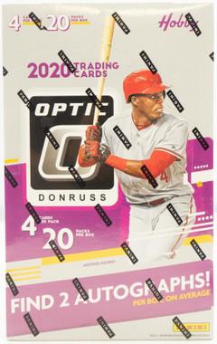 2020 Panini Donruss Optic Baseball Hobby 12 Box Case