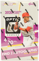 2020 Panini Donruss Optic Baseball Hobby 12 Box Case