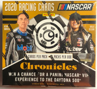 2020 Panini Chronicles Racing Hobby 16 Box Case