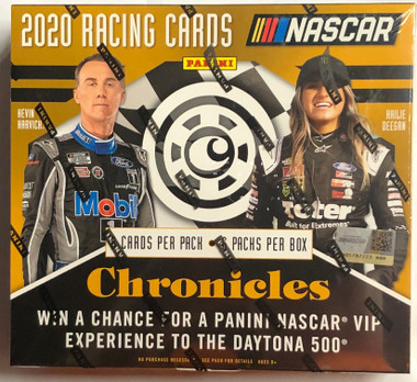 2020 Panini Chronicles Racing Hobby 16 Box Case