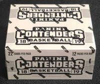 2018/19 Panini Contenders Basketball Fat Pack Box