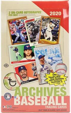 2020 Topps Archives Baseball Hobby 10 Box Case