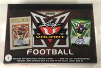 2020 Leaf Valiant Football Jumbo Box