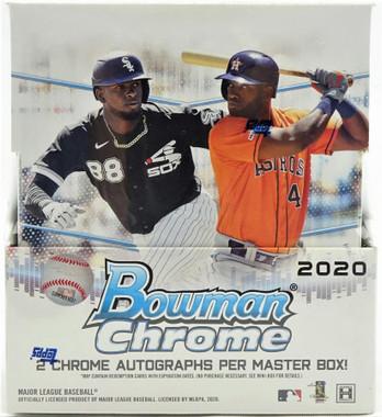 2020 Bowman Chrome Baseball Hobby Box