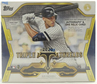 2020 Topps Triple Threads Baseball Hobby 18 Box Case