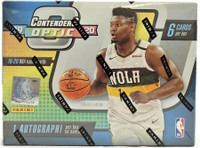 2019/20 Panini Contenders Optic Basketball Hobby 20 Box Case