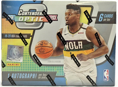 2019/20 Panini Contenders Optic Basketball Hobby 20 Box Case