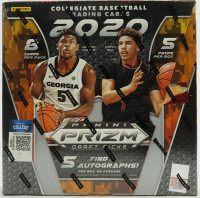 2020/21 Panini Prizm Collegiate Draft Picks Basketball Hobby 16 Box Case