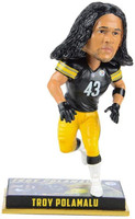 Pittsburgh Steelers Troy Polamalu Retired Greats Legends Bobblehead