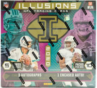 2020 Panini Illusions Football Hobby 8 Box Case