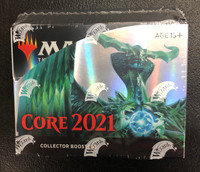 Magic the Gathering 2021 Core Set Collector Booster Box