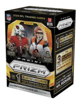 2020 Panini Prizm Football Factory Sealed 6-Pack Blaster Box - Fanatics Exclusive