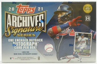 2021 Topps Archives Signature Series Baseball 20 Box Case