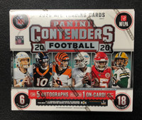 2020 Panini Contenders Football Hobby 12 Box Case
