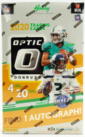 2020 Panini Donruss Optic Football Hobby Box