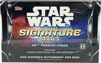 2021 Topps Star Wars Signature Series Box