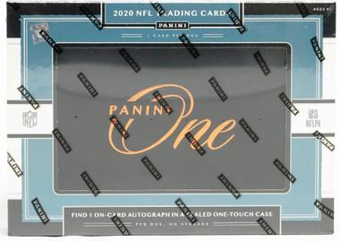 2020 Panini One Football Hobby 10 Box Case