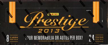 2013 Panini Prestige Football Hobby Box