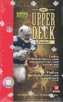 2007 Upper Deck Football Hobby Box
