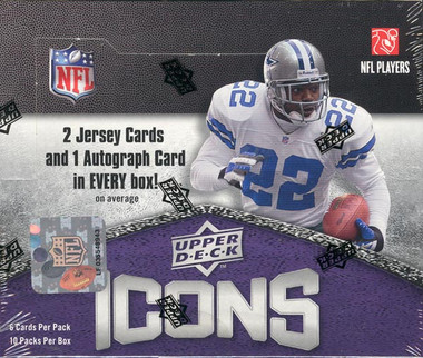 2008 Upper Deck Icons Football Hobby Box
