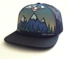 Chill Montana Flatbill Trucker Hat