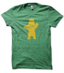 Chill Bear Heather Green T Shirt