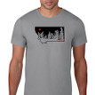 Montana Snow Ghosts T Shirt. Slate Grey