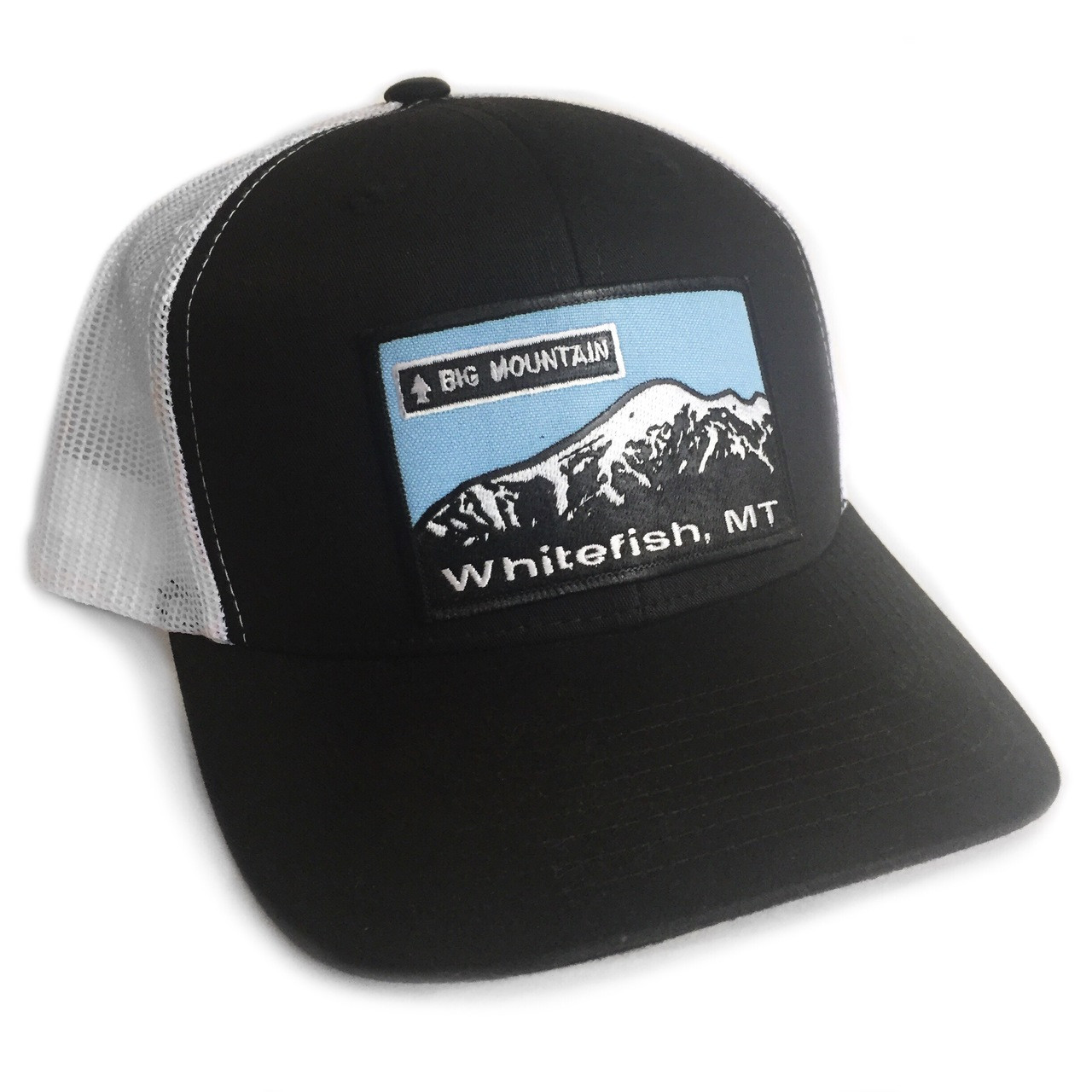 Big Mountain, Whitefish Mt Trucker Hat