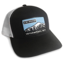 Big Mountain, Whitefish Mt Trucker Hat