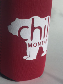 Chill Montana Bear Koozie