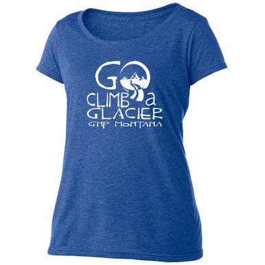 Go Climb a Glacier t shirt