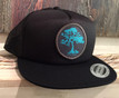 Mahalo Koa Tree Flat Brim Trucker Hat