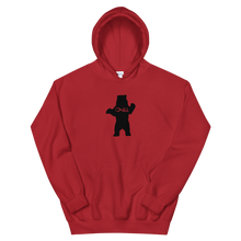 Chill Bear Hoodie, Red