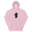 Chill Bear Hoodie, Pink