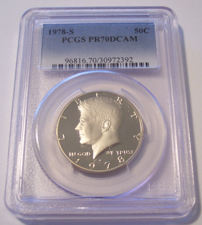 1978-S Kennedy Half Dollar Copper//Nickel Clad Proof